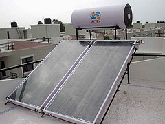 domestic solar heating