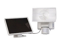 solar lighting security
