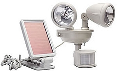 solar motion security lights